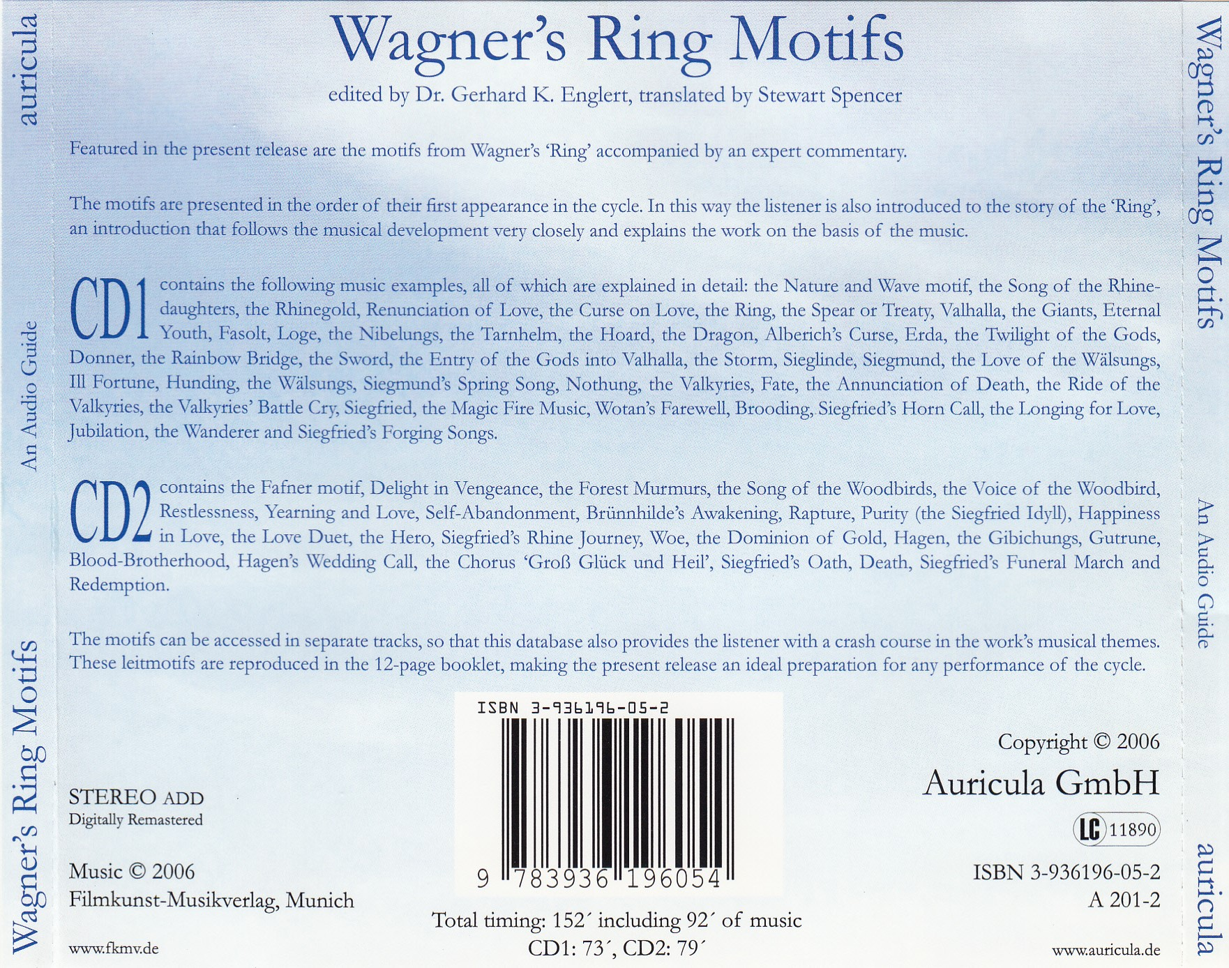 Inlay Wagners Ring Motifs